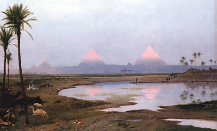 Arab Encampment, Artist: Gérôme, Jean-Léon.